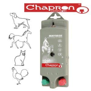 MINYBRIDE Aparat Chapron de gard electric pentru animale domestice 0.6 J 12V/220V