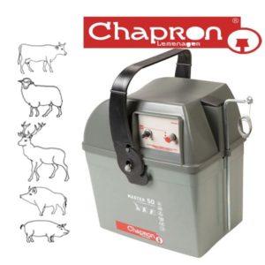 MASTER 50.2 Aparat Chapron de gard electric pentru animale salbatice si domestice  12 V 4.5J