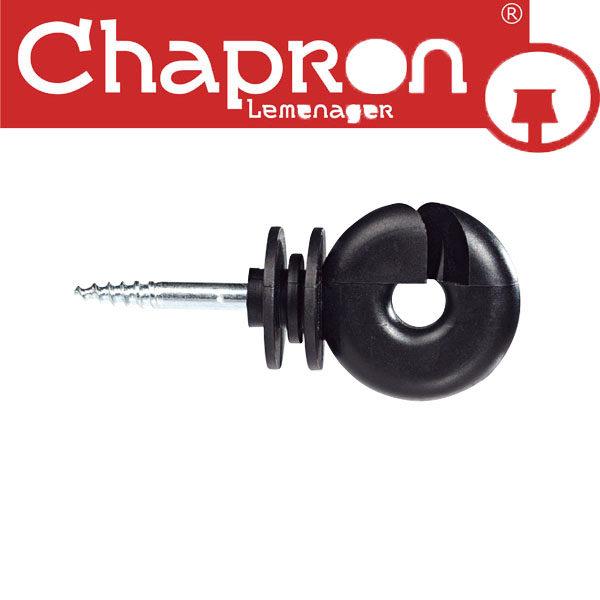 Set 100 izolatori standard Chapron pentru fir sau cablu otel