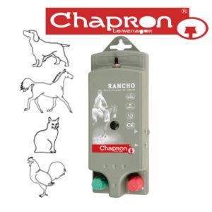 RANCHO Aparat Chapron de gard electric, portabil, 0.3J, alimentat cu 4 baterii de 1,5 V tip AA (LR6)