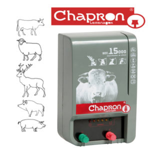 SEC 15000 Aparat Chapron de gard electric pentru animale salbatice 8J, 220V