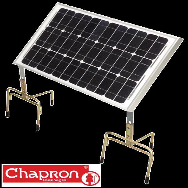 Panou solar 20W cu suport pentru garduri electrice solare