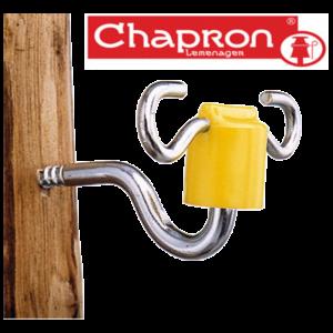 Izolatori doua directii pentru gard electric Chapron