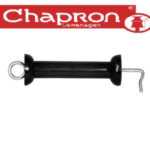 Maner poarta PBI negru pentru garduri electrice Chapron