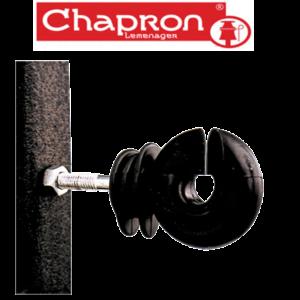Izolatori stalpi metal cu piulita pentru gard ISO F88