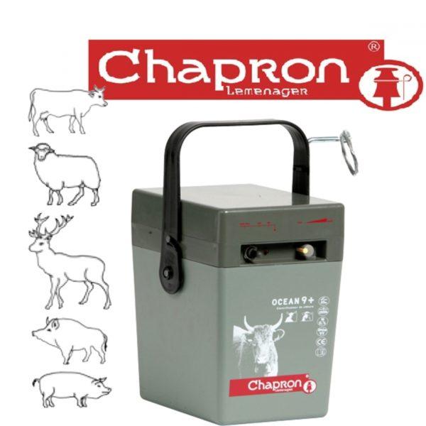 GENERATOR DE IMPULSURI  OCEAN 9 Aparat Chapron de gard electric animale domestice, 220V/12V/9V