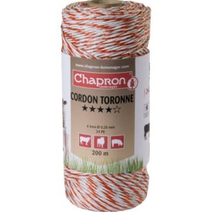 Cordon Toronne, 6 fire inox 0.2, 200m, animale domestice
