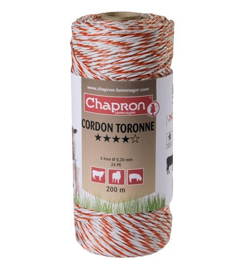 Cordon Toronne, 6 fire inox 0.2, 200m, animale domestice