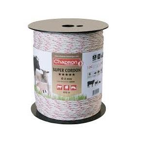 Fir Super Cordon Tresse 4mm, 6 fire inox, toron poliuretan, 400m