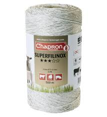 Fir Superfilinox, 6 fire inox 0.15, 500m, animale domestice