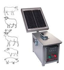 BERGER 30 SOLAIRE Aparat Chapron pentru gard electric, 2.5J cu panou solar de 10 W inclus