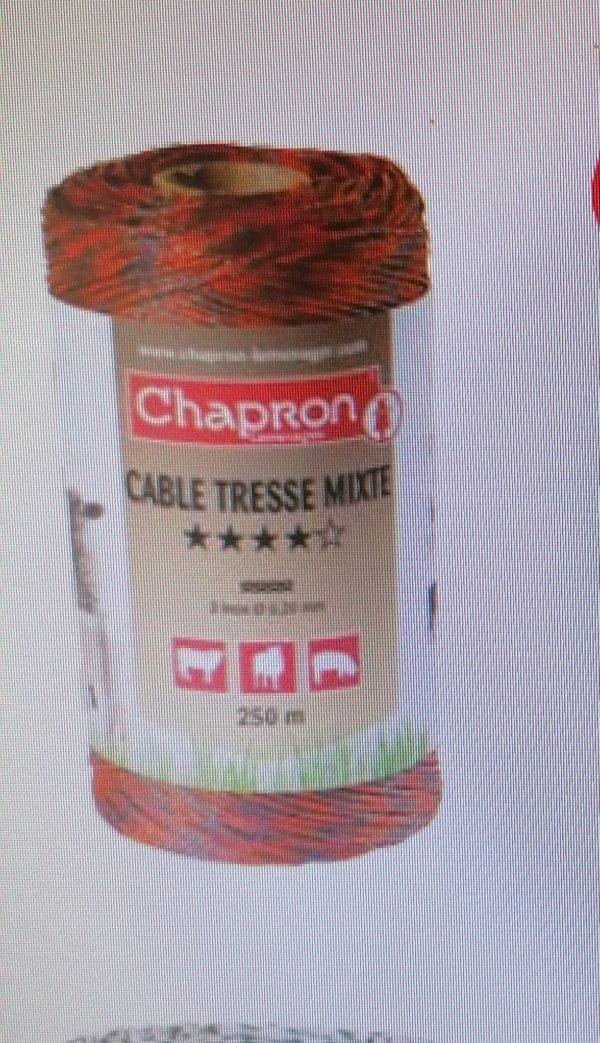 Fir Mixte Tresse pentru gard, 3 fire, 0.2, anti-UV, 500m