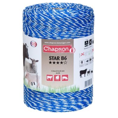 Fir Star B6 inox pentru Gard Electric | Animale Domestice